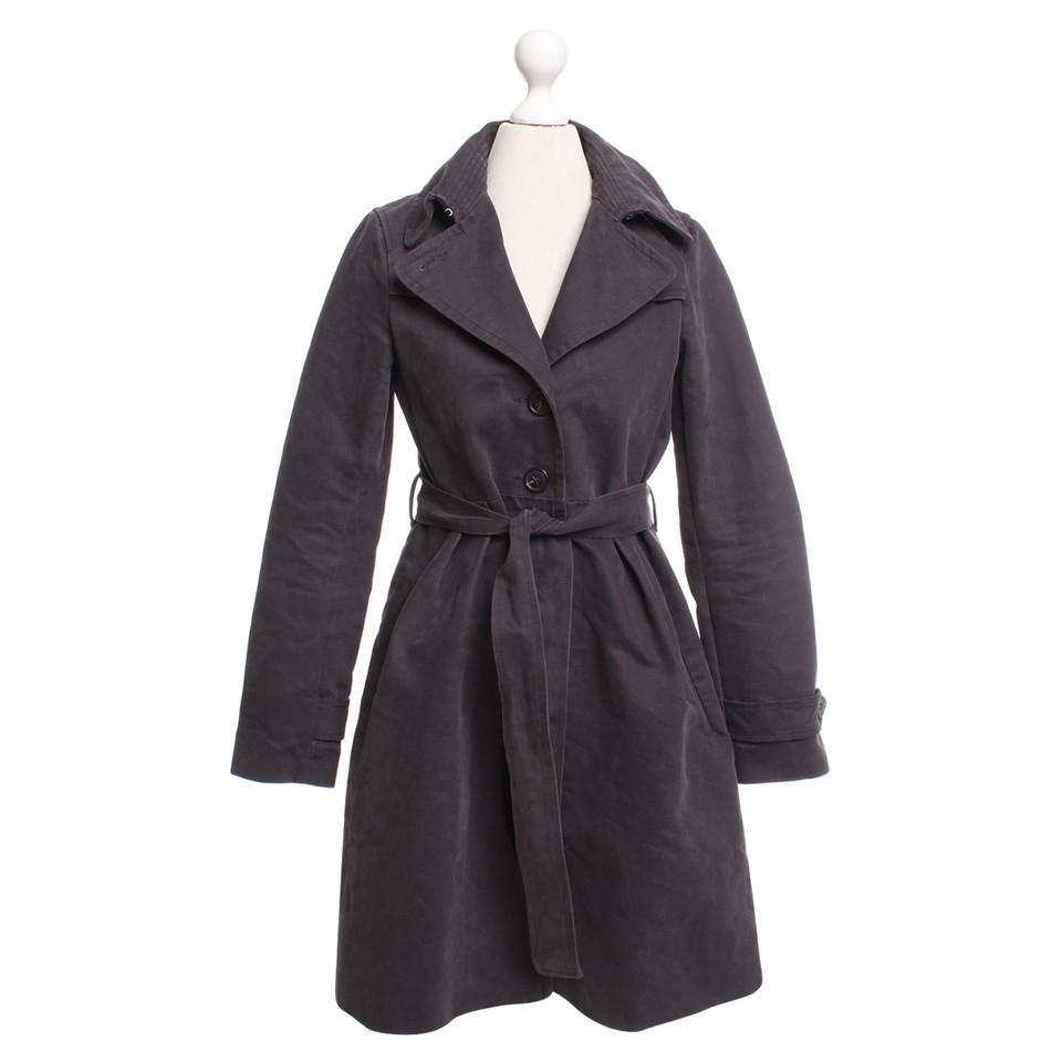 Comptoir des cotonniers trench coat in purple buy second hand comptoir des cotonniers trench - Trench comptoir des cotonniers ...