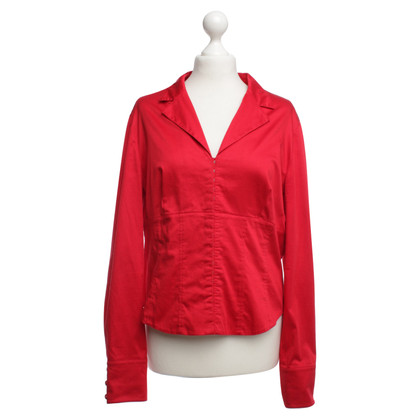 Escada Blouse in red