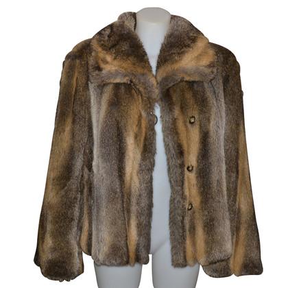 Giorgio Armani Faux fur jacket