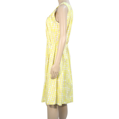 Calvin Klein Dotted dress in yellow