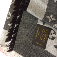 Louis Vuitton Monogram Denim Stole in Black