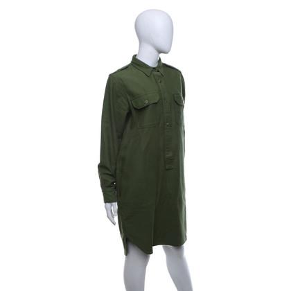 Closed Shirt jurk in groen