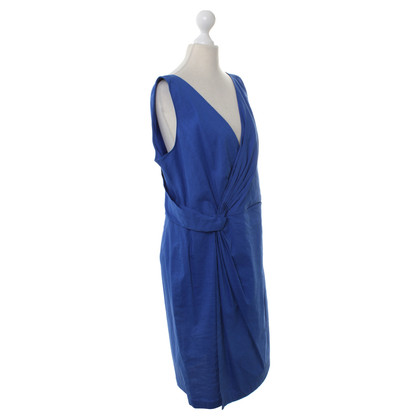 DKNY Silk dress in Royal Blue