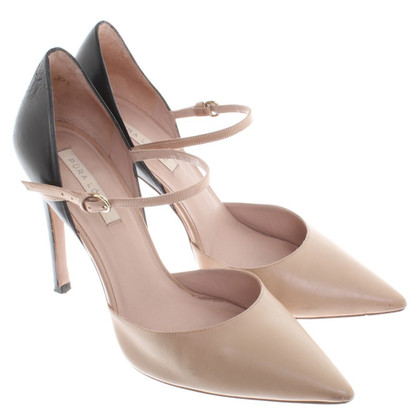 Pura Lopez pumps in nude / zwart