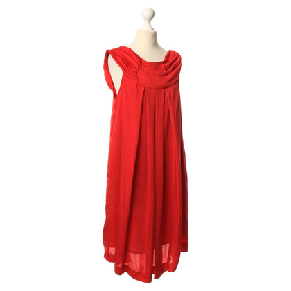 Twin-Set Simona Barbieri Elegantes Kleid in Rot