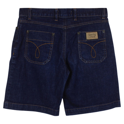 See by Chloé shorts in denim