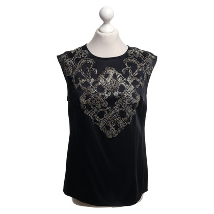 Versace top in black