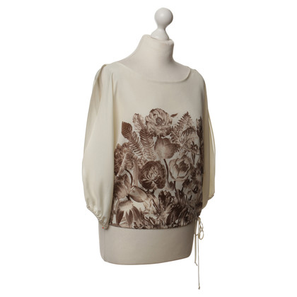BCBG Max Azria Top with floral print