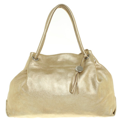 Furla Goldfarbene Handtasche