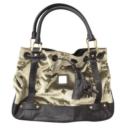 MCM Velvet shoulder bag