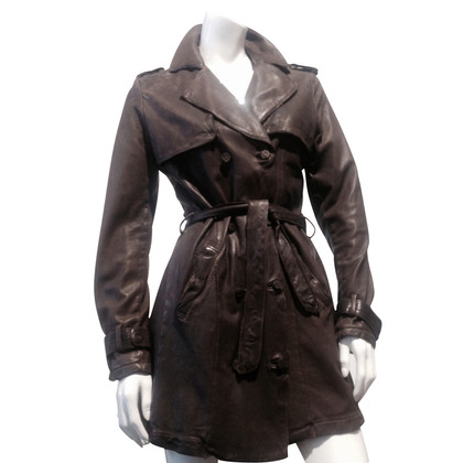 Giorgio Brato Trench coat leather