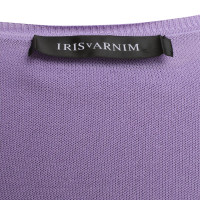 Iris von Arnim Twin set in violet