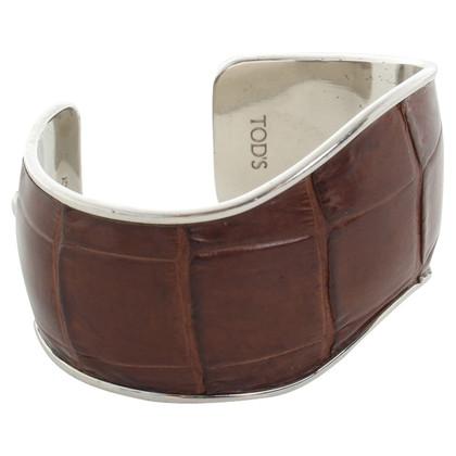 Tod's Bracelet with crocodile