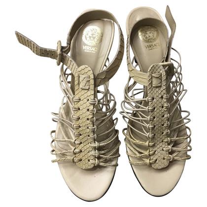 Versace Sandalen in beige