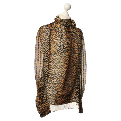 D&G Animal print blouse