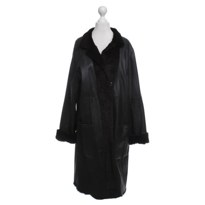 Bogner Manteau long en brun