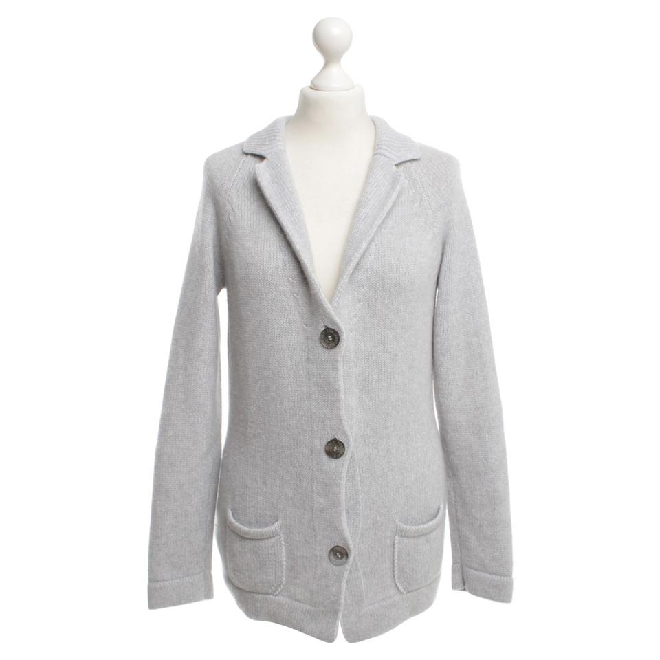 Iris von Arnim Cashmere Sweater in Gray