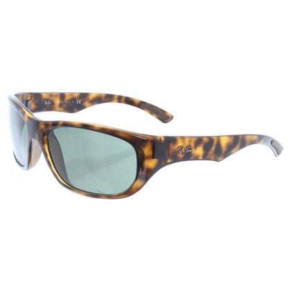 Ray Ban Sonnenbrille mit Schildpatt-Muster