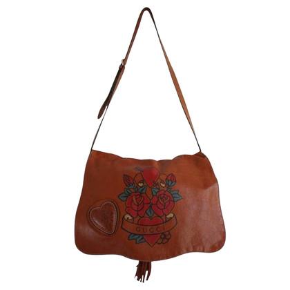 Gucci Tattoo Heart 'Tribeca' Messenger Bag!