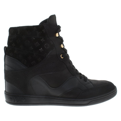 Louis Vuitton Sneaker wedges in black