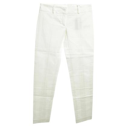 Patrizia Pepe pantaloni Capri in bianco