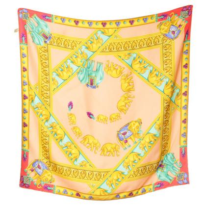 Cartier Sciarpa di seta in multi colorate