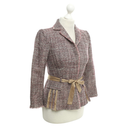 Alberta Ferretti Blazer made of bouclé fabric