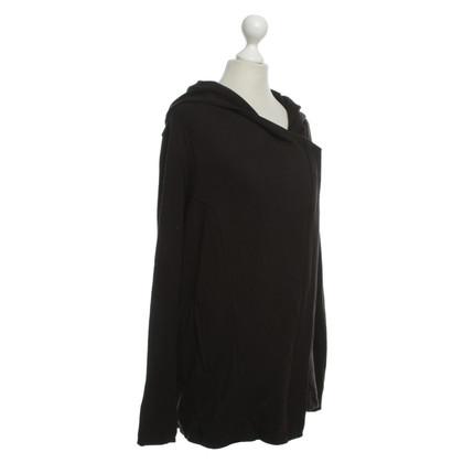 Helmut Lang Hooded vest van zwart