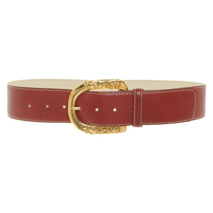 Escada Belt in rust red