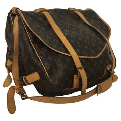 "Louis Vuitton ""Saumur"" travel bag from Monogram Canvas"