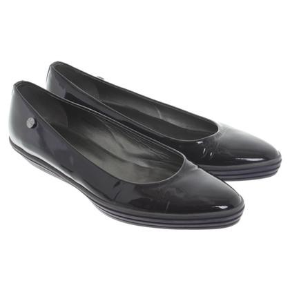 Hogan Patent leather ballerinas