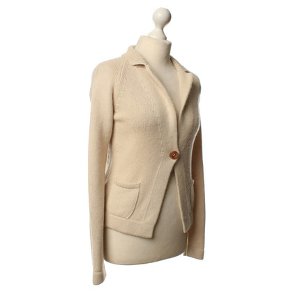 Iris von Arnim Strickjacke in Creme