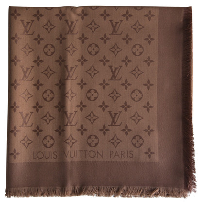Louis Vuitton Monogram doek in Cappuccino