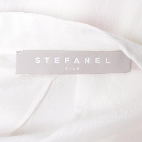 Stefanel Bluse in Bluse Creme Stefanel Creme OBnqdxFw