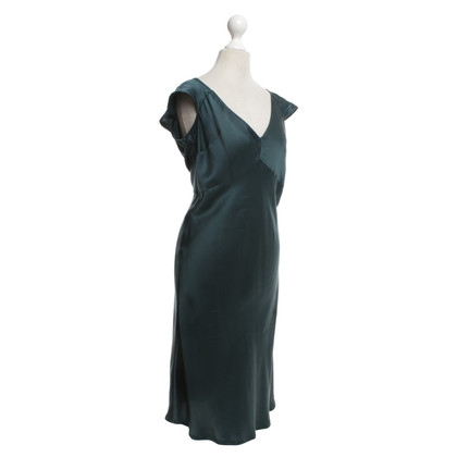 Max & Co Petrol-colored silk dress