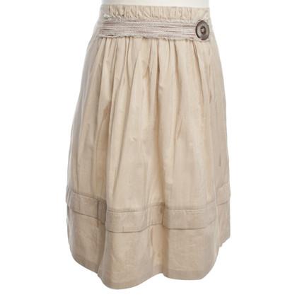 Dorothee Schumacher skirt with striped pattern