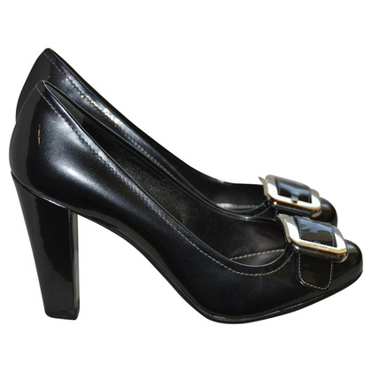 Car Shoe Lackleder-Pumps