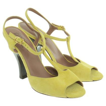 L'autre Chose Sandaletten in Gelb