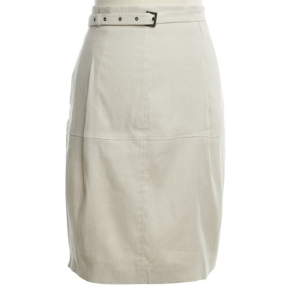 René Lezard skirt in Beige