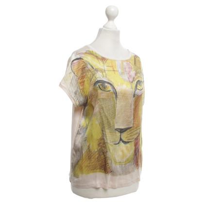 Marc Cain T-shirt with motif print