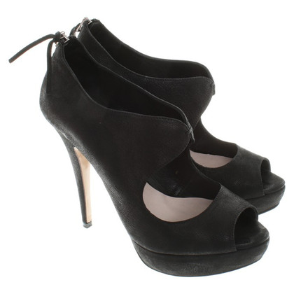 Miu Miu Platform Sandals in Black