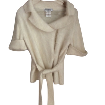 Givenchy Cardigan in angora bianco