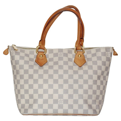 "Louis Vuitton ""Saleya PM Damier Azur Canvas"""