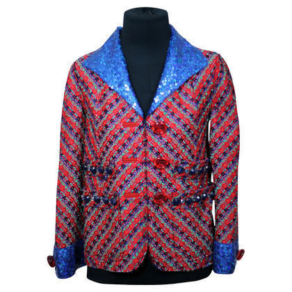 Marc Jacobs Tweed Blazer met pailletten