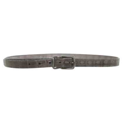 Post & Co Belt made of reptile leather