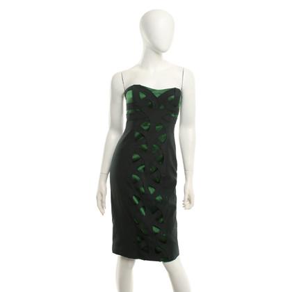 Karen Millen Dress in dark green