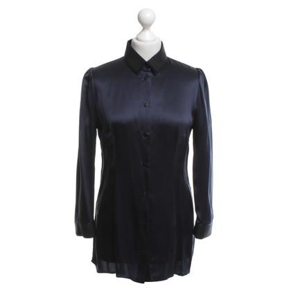 Dolce & Gabbana Silk blouse in blue