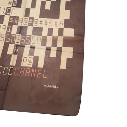 Chanel Seidentuch mit Muster