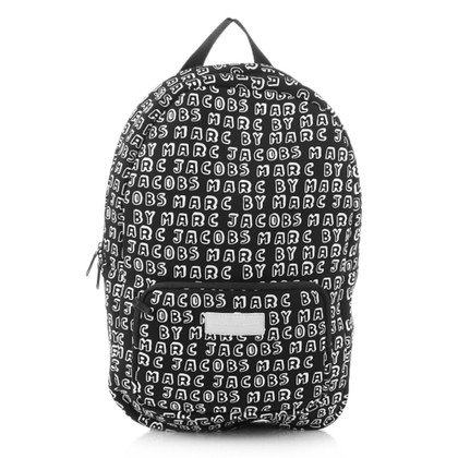 "Marc by Marc Jacobs ""Dynamite logo neoprene backpack black"""