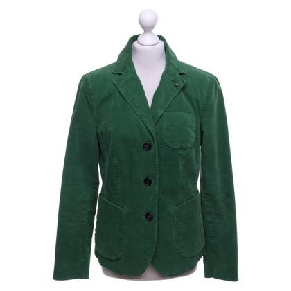 Blonde No8 Green Cord Blazer